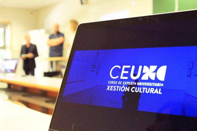 Primeira sesión do CEU en Xestión Cultural da USC no curso 2018-19